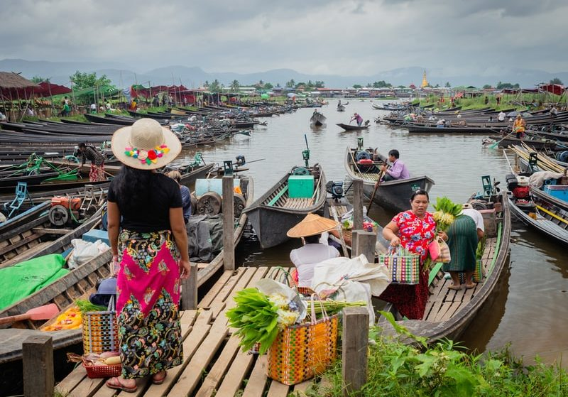 It was me, you and Inle Lake!