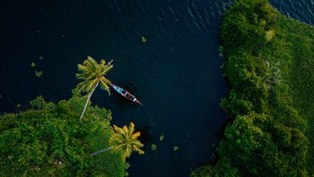 Explore the picturesque Kerala Backwaters