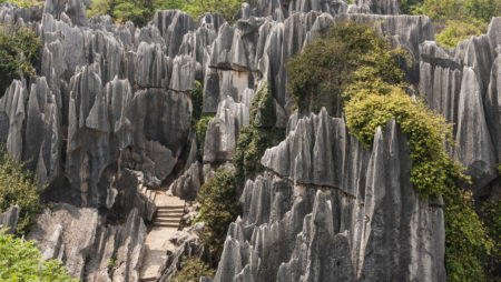 Yunnan Stone Forest – attracting countless tourists by its storie