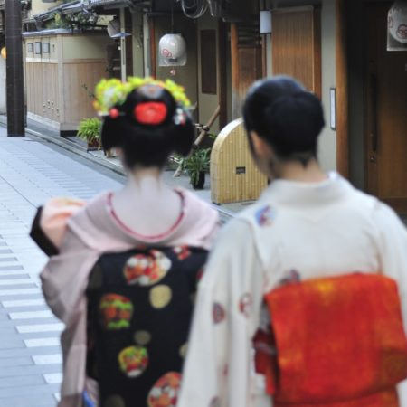 In the Towns of Japan – the Geisha of Gion